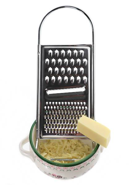 TARKA kuchenna stalowa tarka z 3 funkcjami tarcia, 30cm / Stainless grater st/st 3 functions 8712442013884 / 22273519
