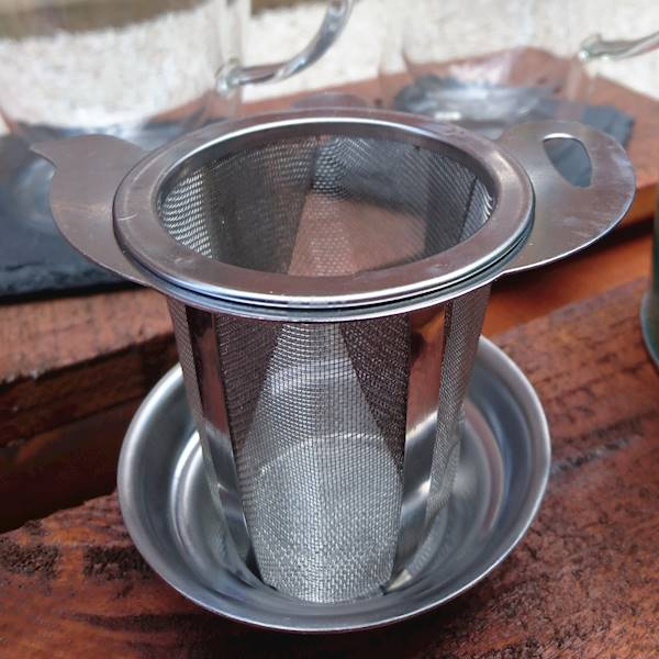 Zaparzacz stalowy do herbaty ziół w kształcie czajniczka / Stainless steel brewer TEA PREMIUM model 8712442918271 / 22090164
