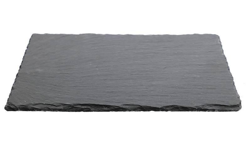 ŁUPEK kamienny- podstawka / taca do serwowania dań, czarna 20x30 cm / Stone trivet 20x30cm 8712442090748 / 23464665