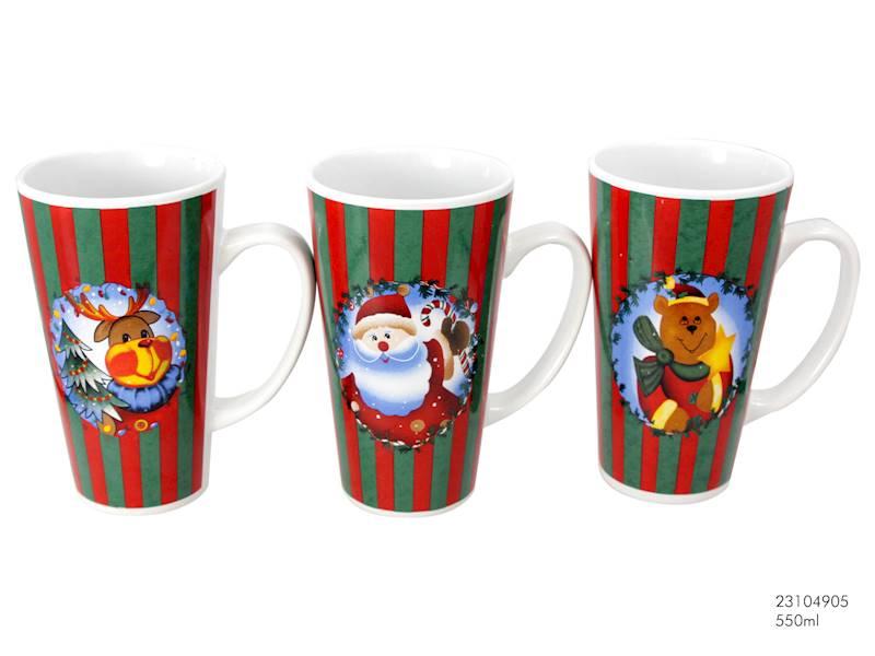 Deco zimowy Kubek BIG / XMAS mug V Shape BIG ONE 8712442116783 / 23104905