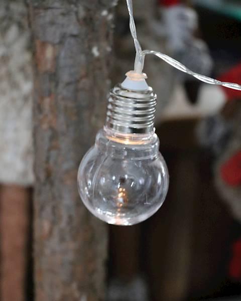 Lampki ledowe Żarówki 8 diod, 125cm / LED Bulbs chain 8 pcs warm led 8712442118510 / 23121372
