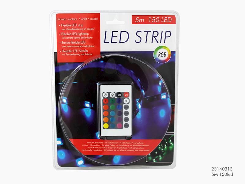 LED taśma, 150 diod, 5m / LED striplight rbg 5 M 1505 8712442103394 / 23140313
