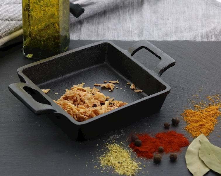 ŻELIWO-żeliwne naczynie do serwowania dań 12,8x3,3cm / CAST IRON Dish 12,8x3,3cm 8712442151319 / 23460350