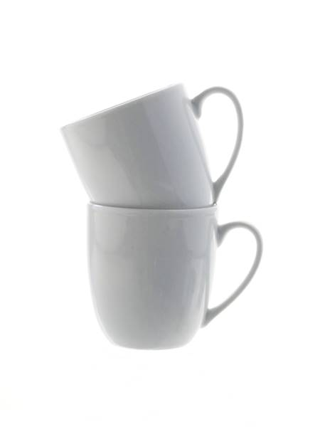 Porcelana Zestaw 2 kubków do kawy / Porcelain mug WHITE set of 2 small coffe 2000330094081/ 27020279