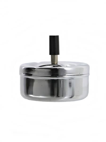 Metalowa popielniczka obrotowa chromowana / Metal ashtray chrome swivel 8712442626879 / 23461632
