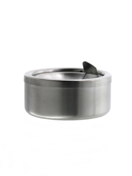 Metalowa popielniczka zamykana / Metal ashtray steel 8712442003564 / 22170235