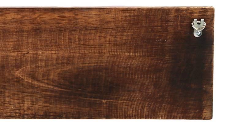 Wieszak drewniany na ubrania z napisem, 40x15x5cm, 2 wzory / Deco hanger wooden with overprint 4047096739793