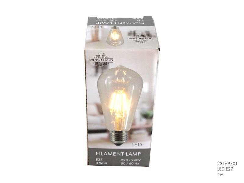 LED Żarówka E27 4W / LED Bulb E27 4W 8712442142485 / 23159701