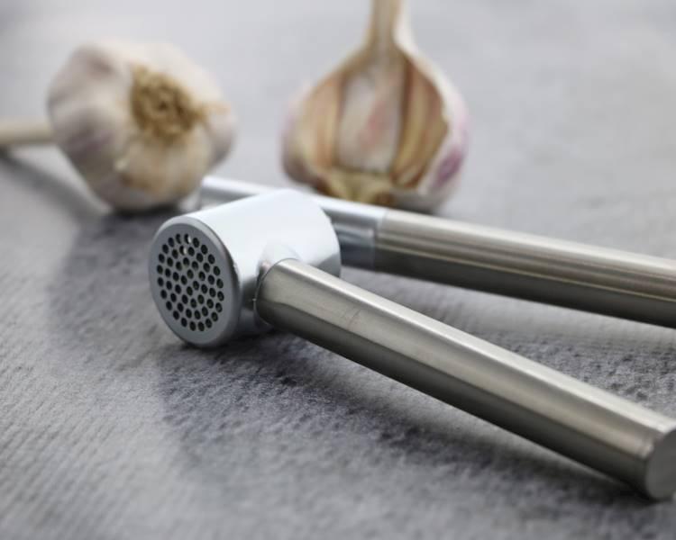 Stalowa praska wyciskarka do czosnku / Stainless steel garlic press 8712442078876 / 22275201