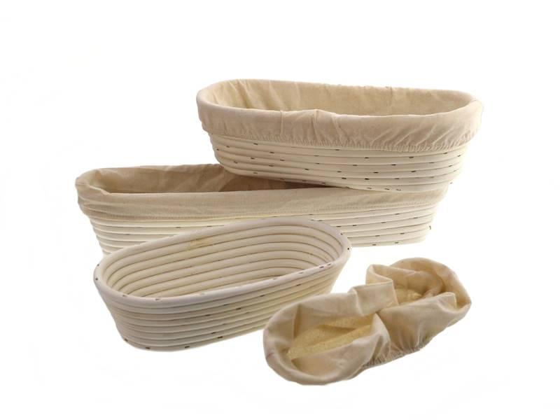 Ratanowy koszyk do garowania chleba owalny 32 cm / MPL Natural rattan breadform OVAL 32 cm / 5901497717646