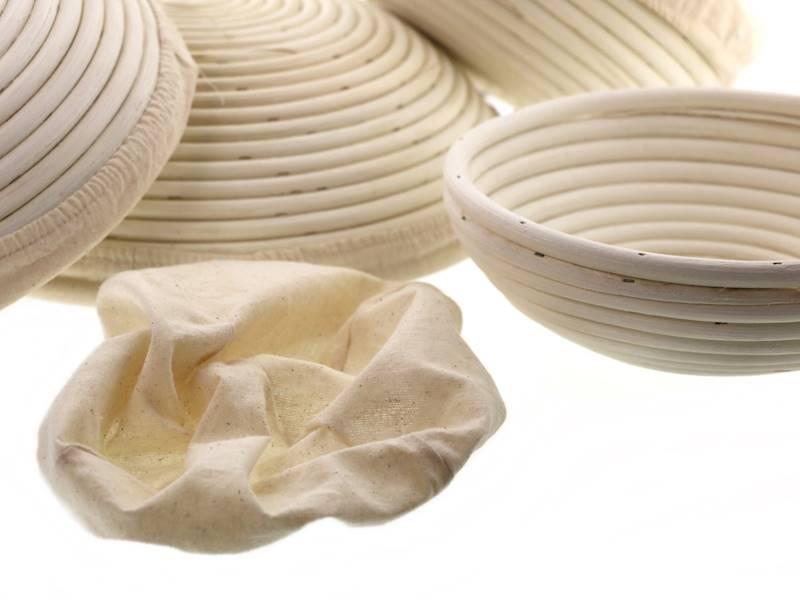 Ratanowy koszyk do garowania chleba okrągły 23 cm / MPL Natural rattan breadform ROUND 23 cm  / 5901497717721