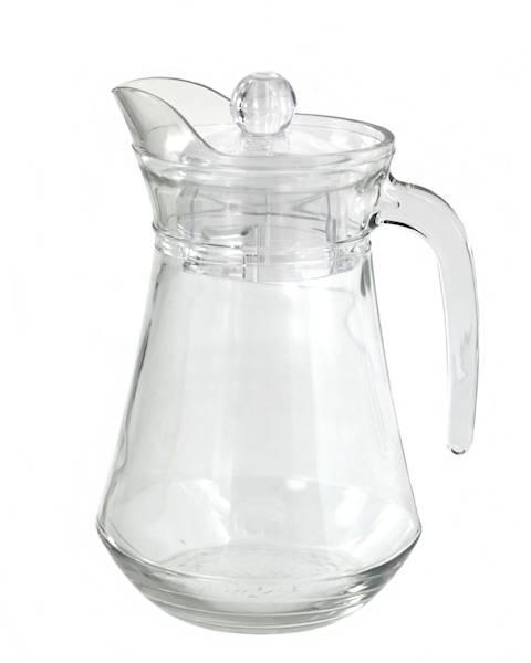 SZKŁO - szklany dzbanek z pokrywką, 1,3l / Glass jug ARCOROC WITH LID 1,3 L TOP SELLER 0026102146460