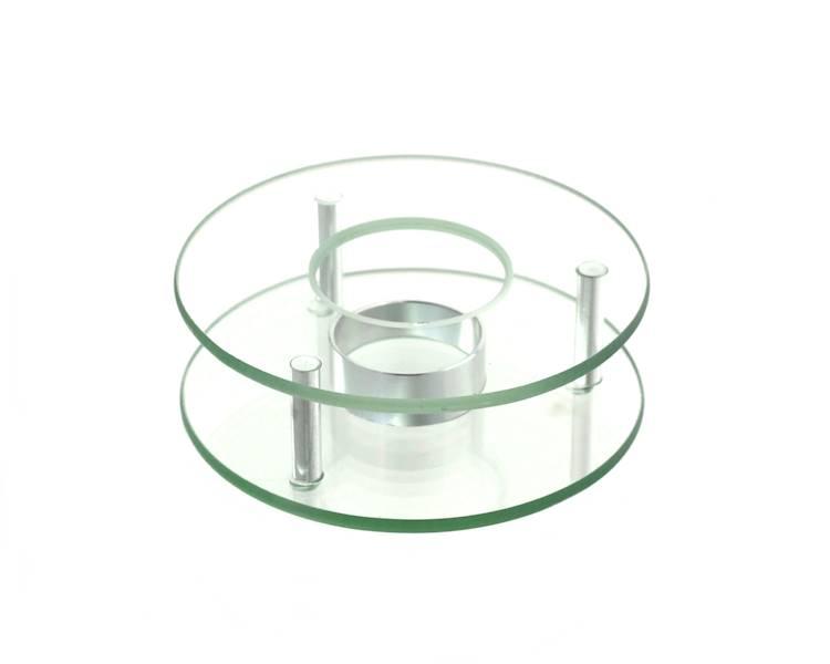 Podgrzewacz szklany do czajników zaparzaczy 12,5cm 22170661/ Glass warmer round dia 12,5 cm 22170661