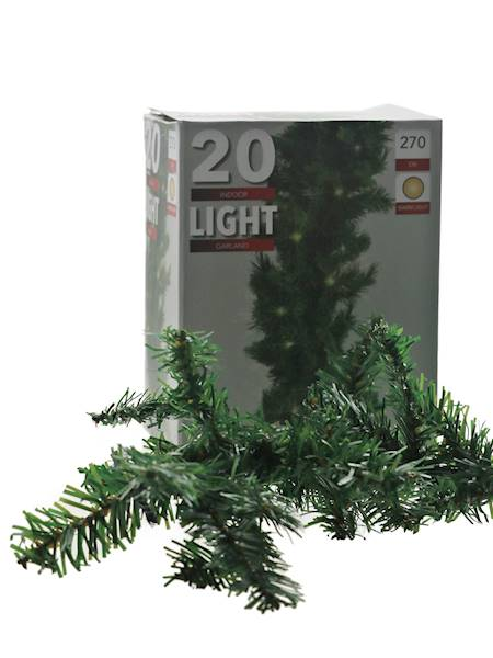 Dekoracyjna girlanda sosna kanadyjska 20 led 270 cm 23094265/ Deco garland Canadian Pine 20 led 270 cm 23094265