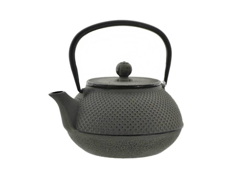 Cast iron japanese teapot 0,8L GIFT ONE GREY