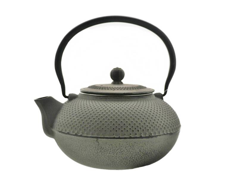 Cast iron japanese teapot 1,5L GIFT ONE GREY