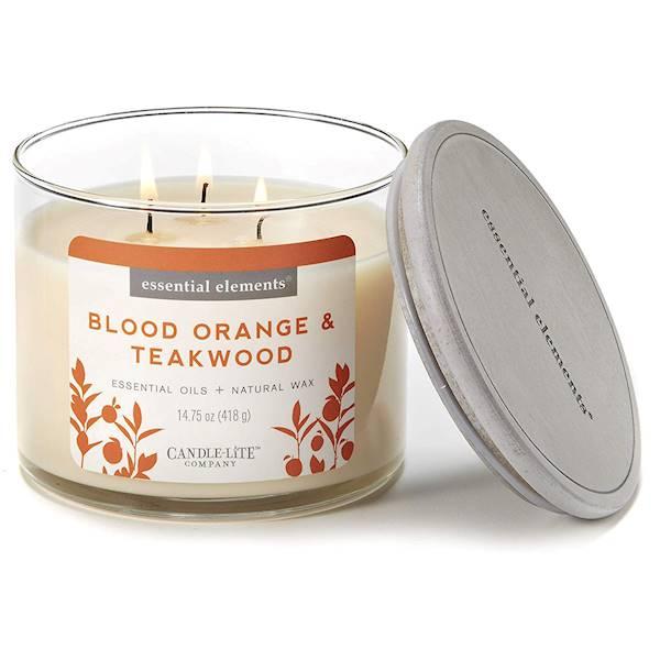 CANDLE Essential 14.75 oz - Blood Orange&Teakwood