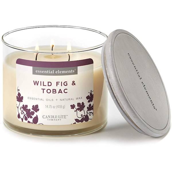 CANDLE Essential 14.75 oz - Wild Fig & Tobac