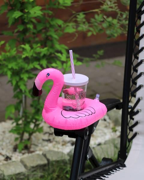 FLAMINGO dmuchana podstawka pod napój / FLAMINGO Inflatable floating holder 8712442154105 / 23362402