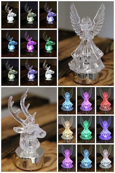 LED Figurka dekoracyjne renifer/anioł / LED Tealight deer/angel 8712442032168 / 23143854