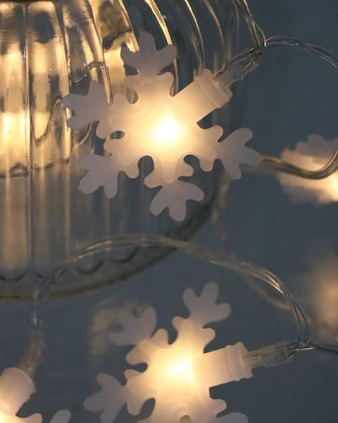 Lampki ledowe śnieżynki 10 diod / LED Snowflake 10 pcs warm light 8712442083498 / 23120039