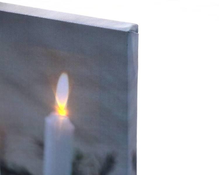 LED Obraz 30x40 cm  WZORY / LED Canvas 30x40cm assorted 8712442042211 / 23140982