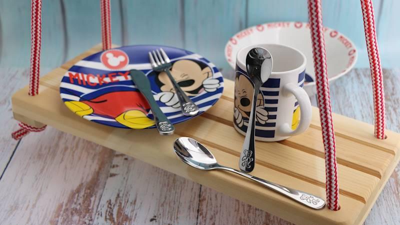 SZTUĆCE Dziecięce Teddy / Cutlery set 4 pcs children set Teddy Flock 5901468237920