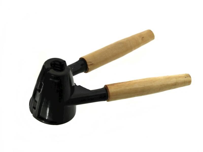 DZIADEK DO ORZECHÓW metal/drewno / Metal / wooden handy NUTCRACKER black 22275096 8712442638957