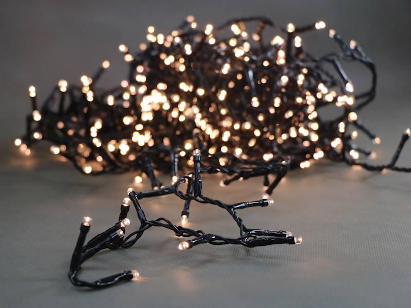 Lampki ledowe 100 diod światło ciepłe ZEWNĘTRZNE /  LED Chain 1000 warm white ip44 timer 8712442160731 / 23151829