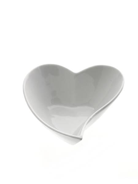 Porcelanowe SERCE miska 13x11x15,5 cm / Porcelain heart bowl 13x11x5,5 cm 8712442122791 / 24303408