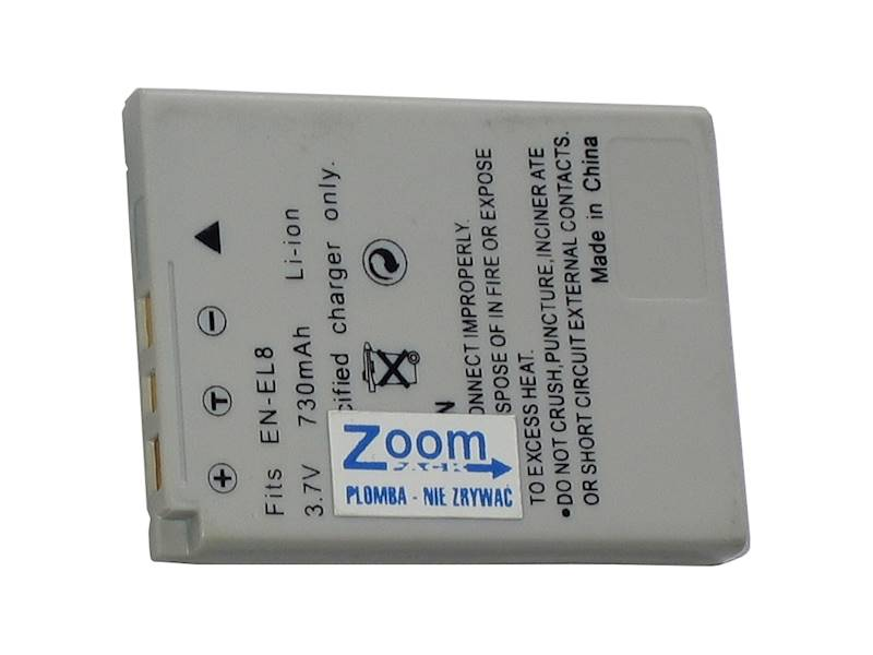 AKUMULATOR ZOOM EN-EL8  850mAh
