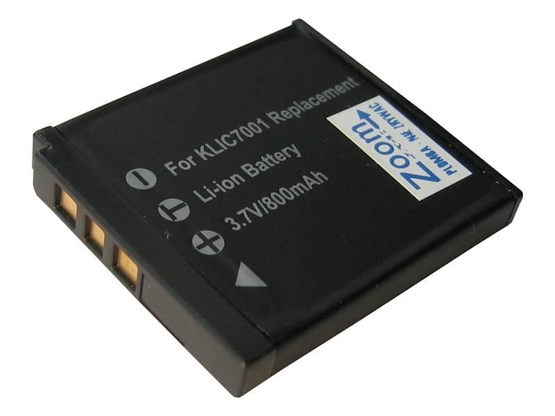AKUMULATOR ZOOM KLIC-7001 730mAh