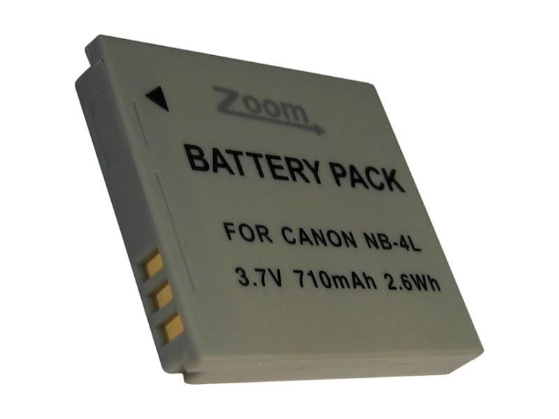 AKUMULATOR ZOOM NB-4L 710mAh