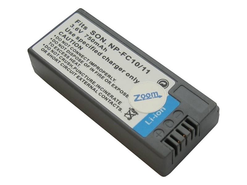 AKUMULATOR ZOOM NP-FC11 750mAh
