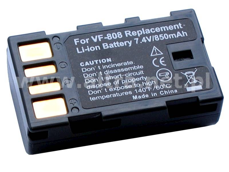 AKUMULATOR ZOOM BN-VF808 850mAh