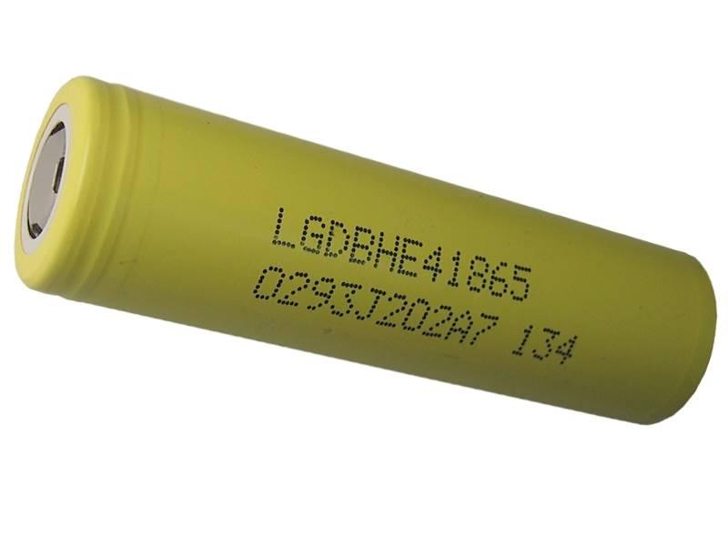 Akumulator LG ICR18650-HE4 Li-Ion 2500mAh 20A
