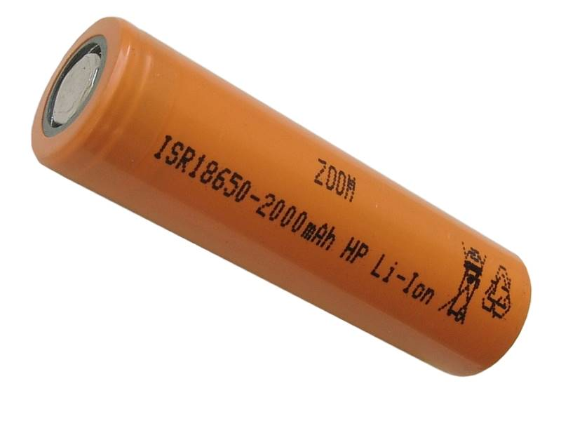 Akumulator ZOOM ISR18650HP 3,7V 2000mAh Li-ion 25A