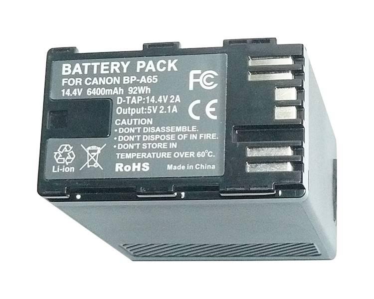 AKUMULATOR ZOOM BP-A65 6400mAh 92Wh       DTap/USB