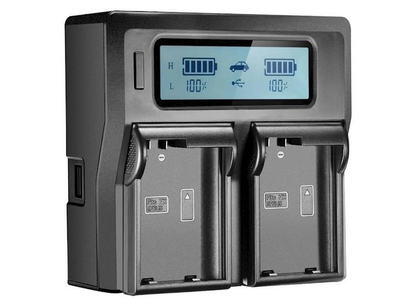 ŁADOWARKA DC-LCD DUAL BP-A65