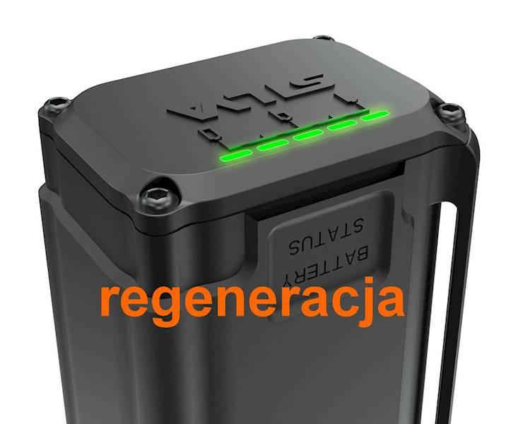 Akumulator latarki SILVA 4XT 7,4V      REGENERACJA