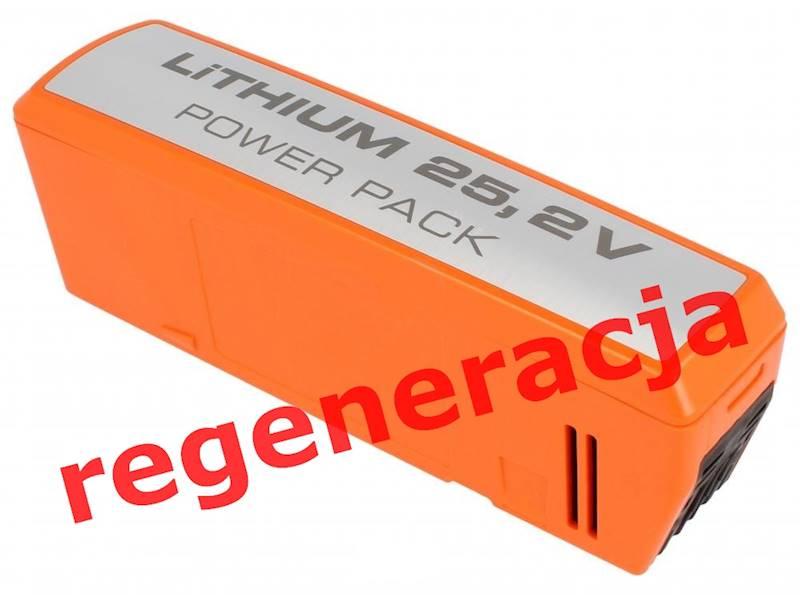 Akumulator Electrolux SIRBP252LI 25,2V 50Wh Liion