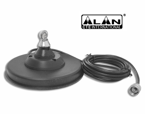 Uchwyt CB magnetyczny Alan BM140DV