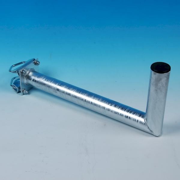 Uchwyt balkonowy czołowy 48mm L450