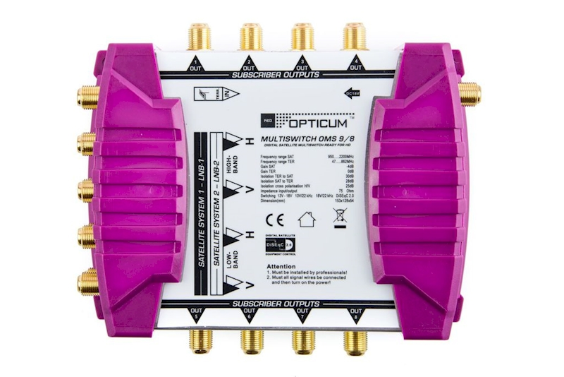 Multiswitch 9/8 Opticum OMS P