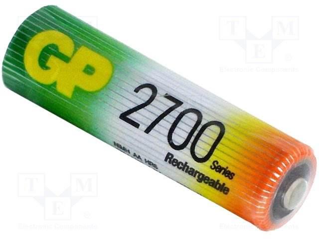 Akumulator GP AA 2700mAh (1 sztuka)
