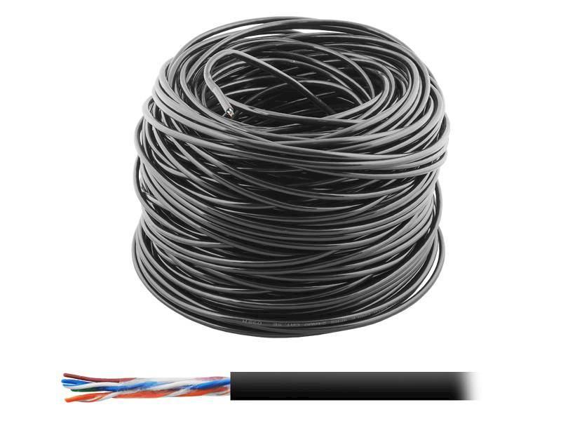 Kabel skrętka UTP LTC Cu + żel (metr bieżący)