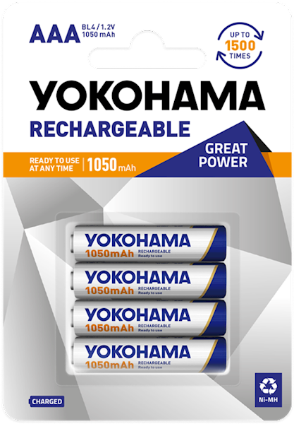 Akumulator NiMH YOKOHAMA AAA 1050mAh (1 sztuka)
