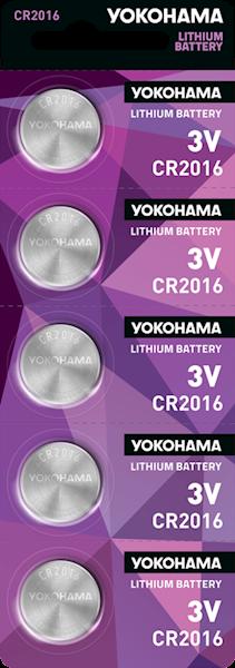 Bateria YOKOHAMA CR2016 3V LITHIUM (1 sztuka)