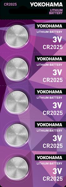 Bateria YOKOHAMA CR2025 3V LITHIUM (1 sztuka)