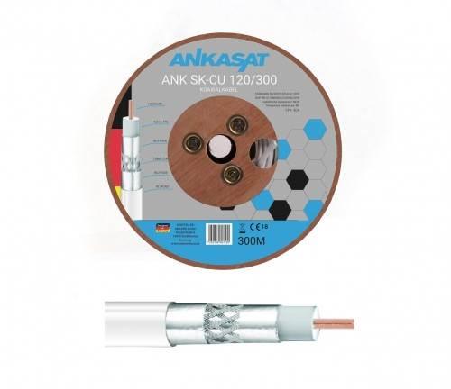Kabel koncentryczny Ankasat SNK SK-CU 120/300 (metr bieżący)